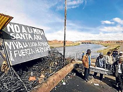 Resultado de imagen para proyecto minero santa ana